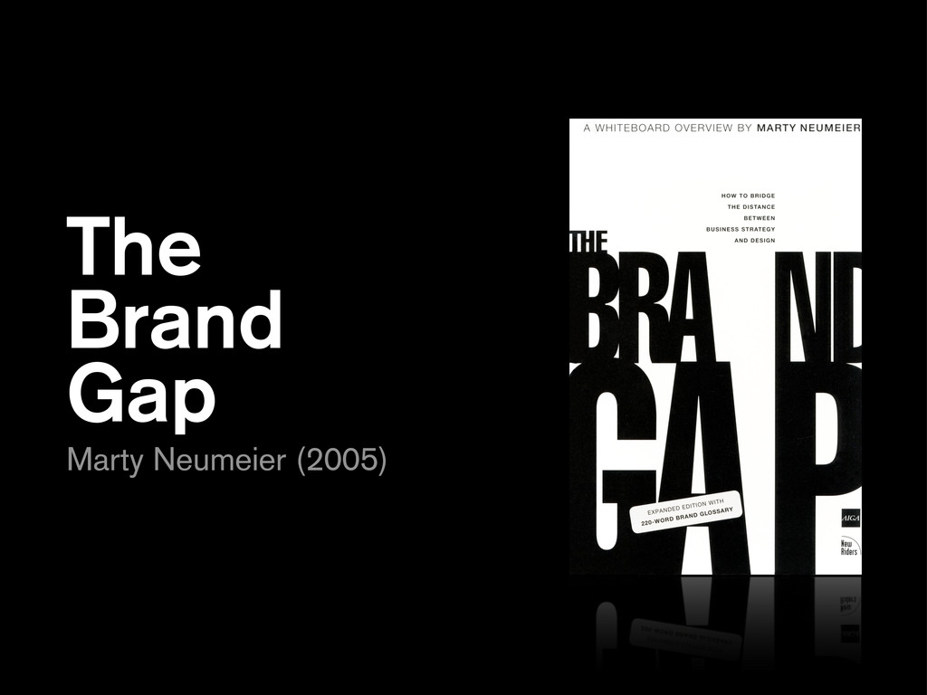 The Brand Gap Marty Neumeier (2005)