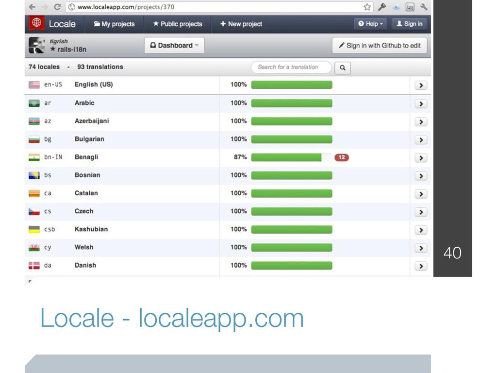 Locale - localeapp.com 40