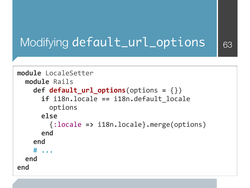Modifying default_url_options 63 module	