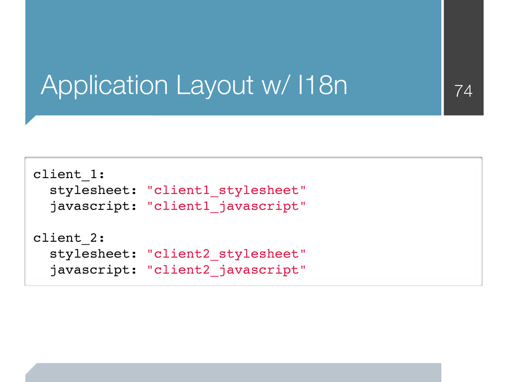 Application Layout w/ I18n 74 client_1: stylesh...