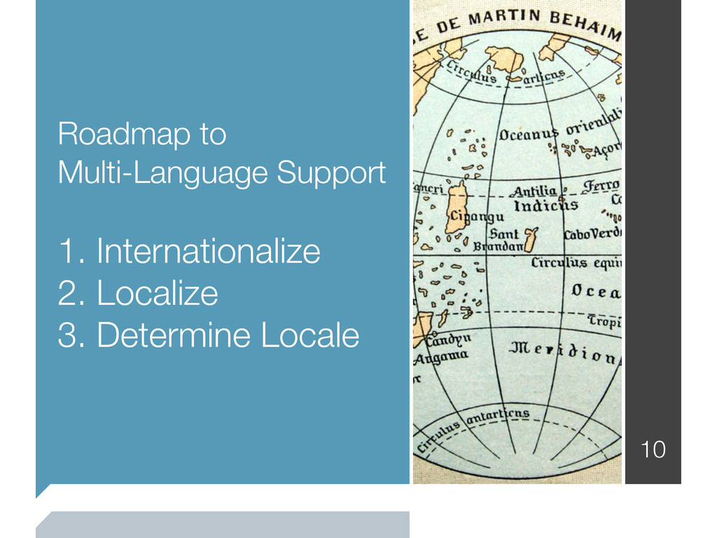 Roadmap to Multi-Language Support 1. Internatio...