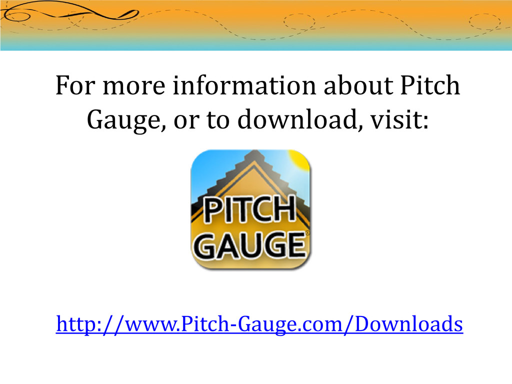 For more information about Pitch Gauge, or to d...