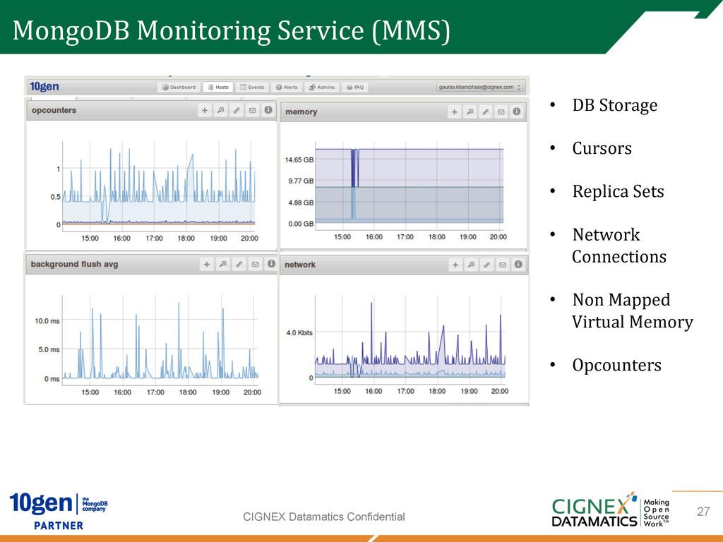 CIGNEX Datamatics Confidential MongoDB Monit...