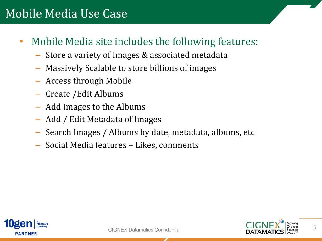 CIGNEX Datamatics Confidential Mobile Media...