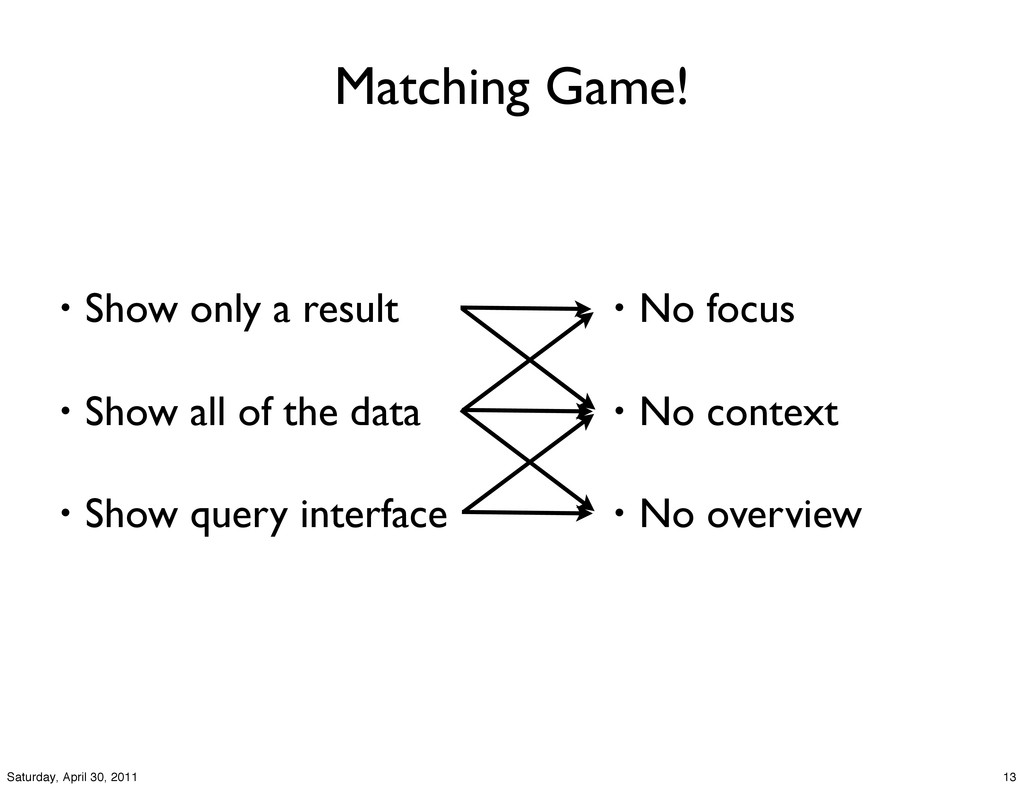 Matching Game! • Show only a result • Show all ...
