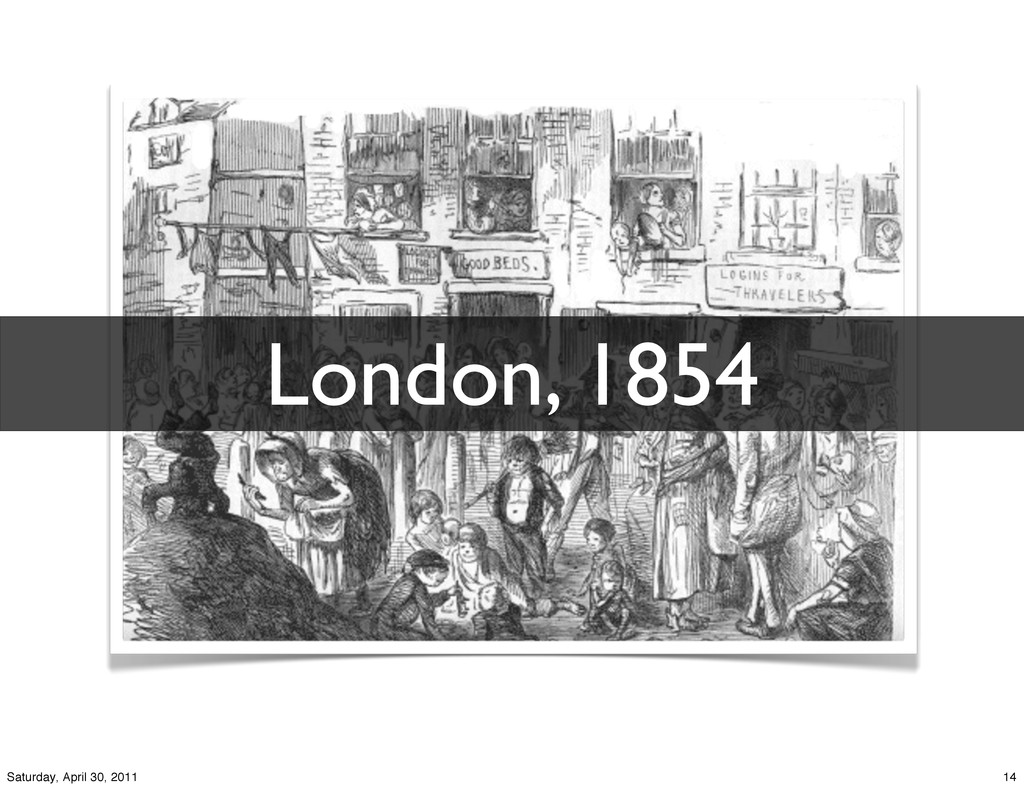 London, 1854 14 Saturday, April 30, 2011