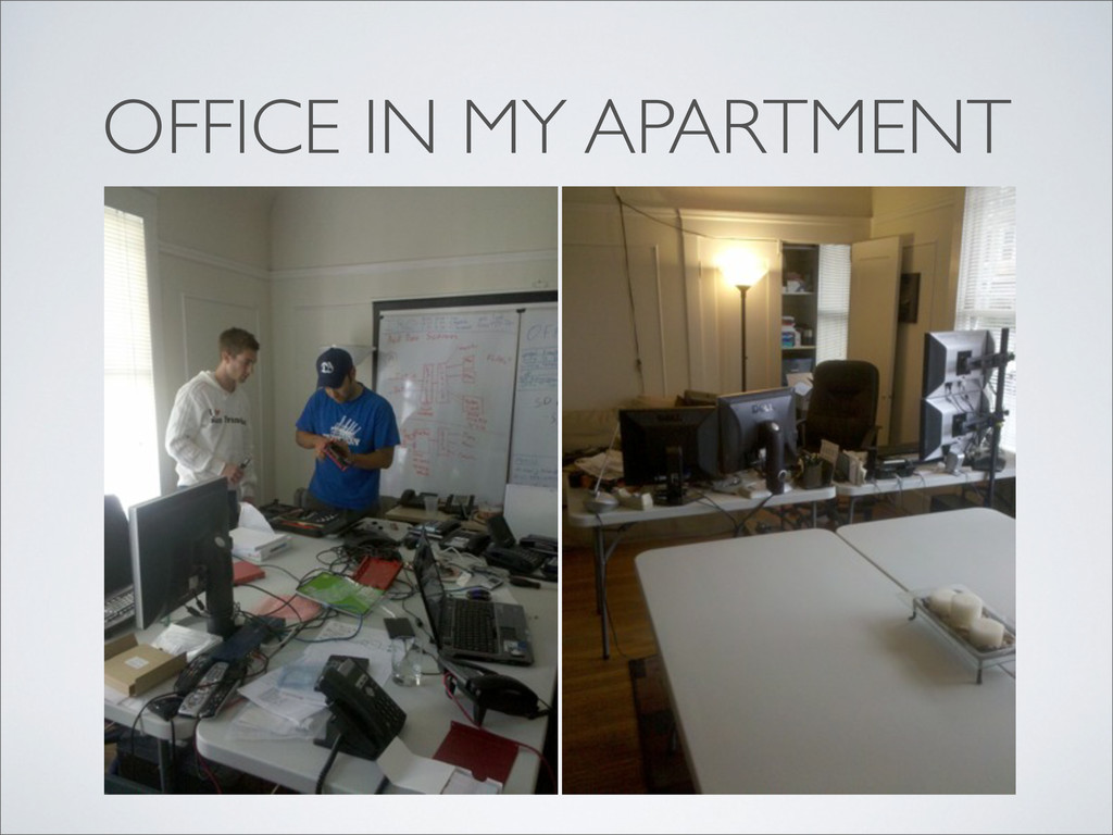 OFFICE IN MY APARTMENT