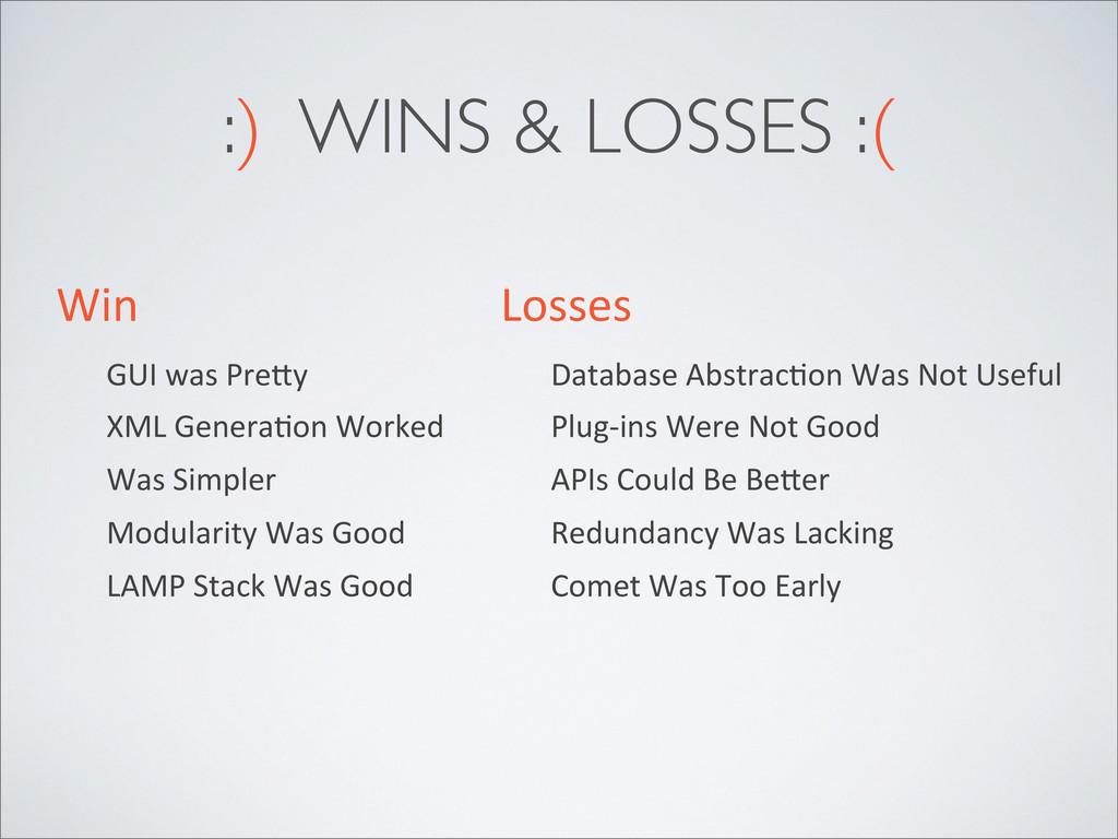 Win GUI was Pre^y XML GeneraZon Wor...