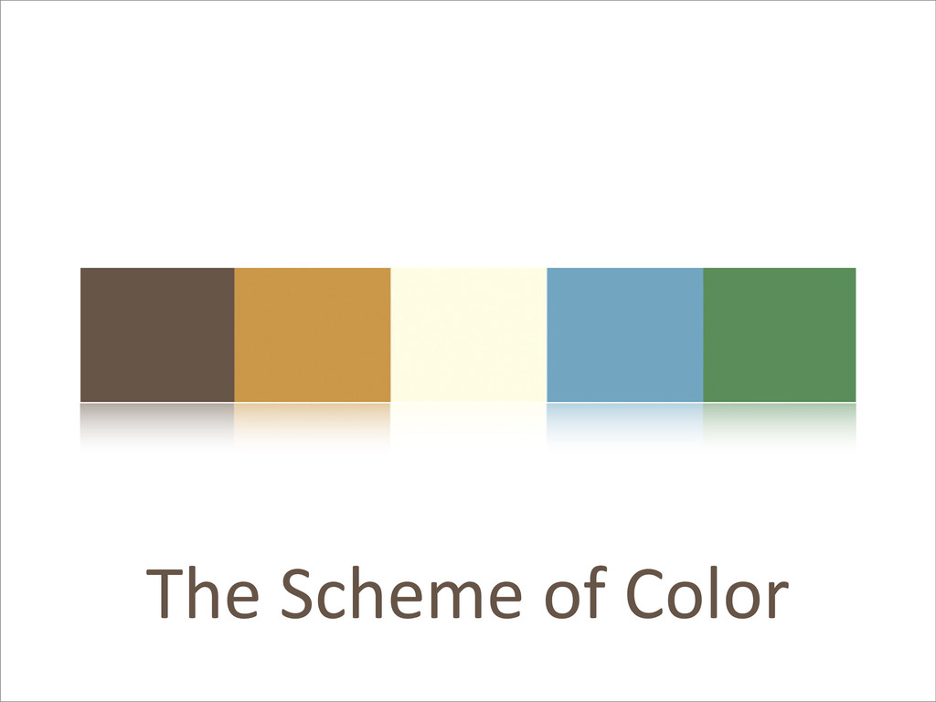 The Scheme of Color