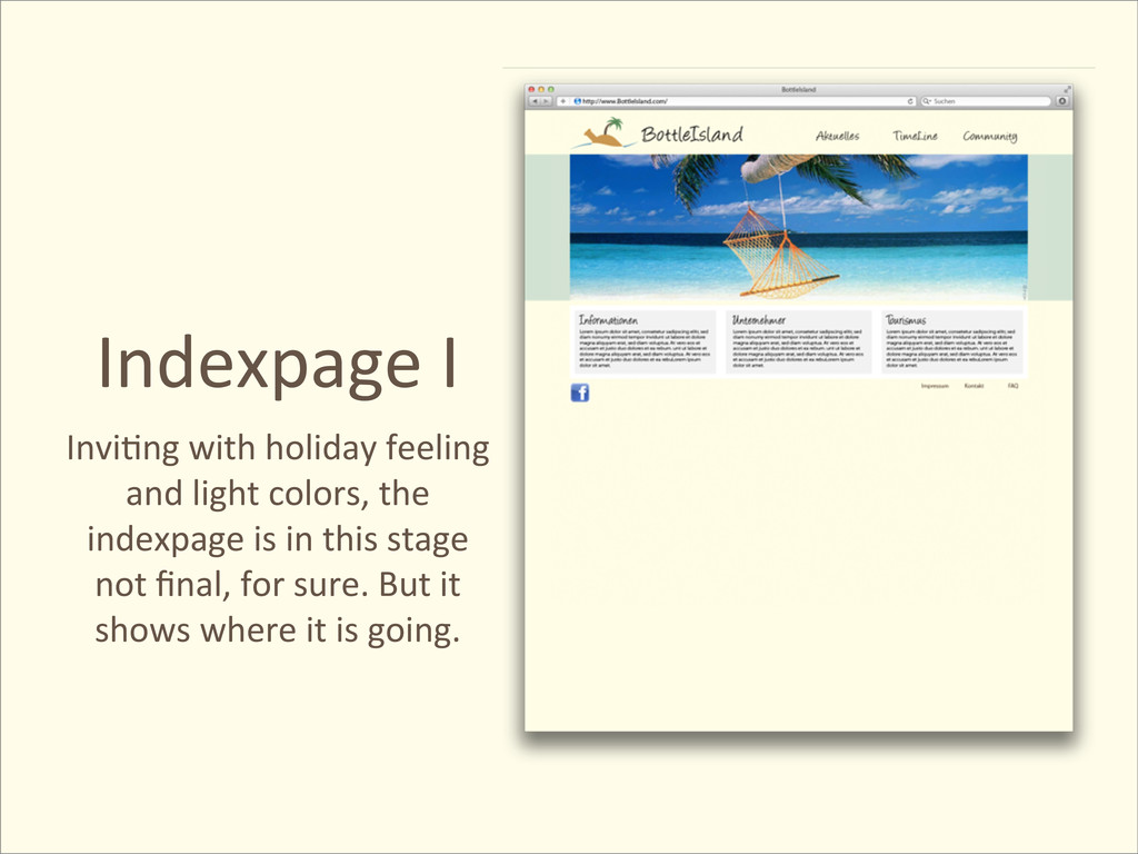 Indexpage I Invi@ng with holiday fe...
