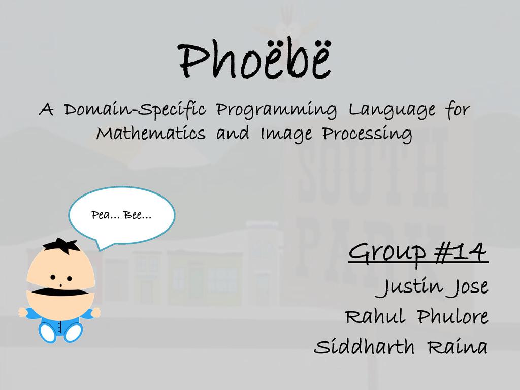 Phoëbë A Domain-Specific Programming Language f...