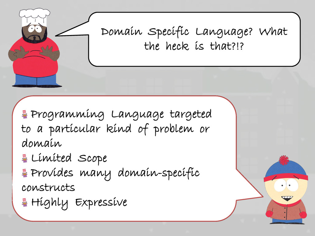 Programming Language targeted to a particular k...