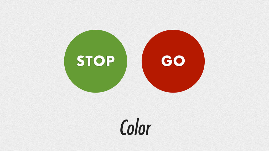 Color STOP GO
