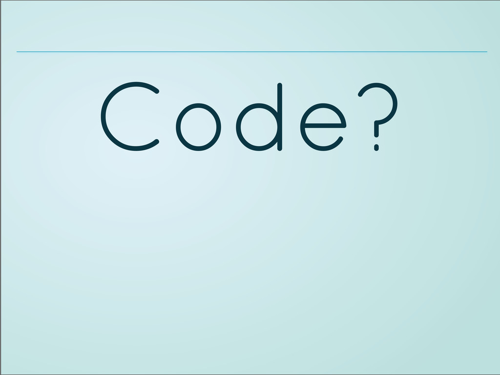 Code?