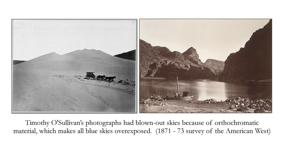 Timothy O'Sullivan's photographs had blown-out ...