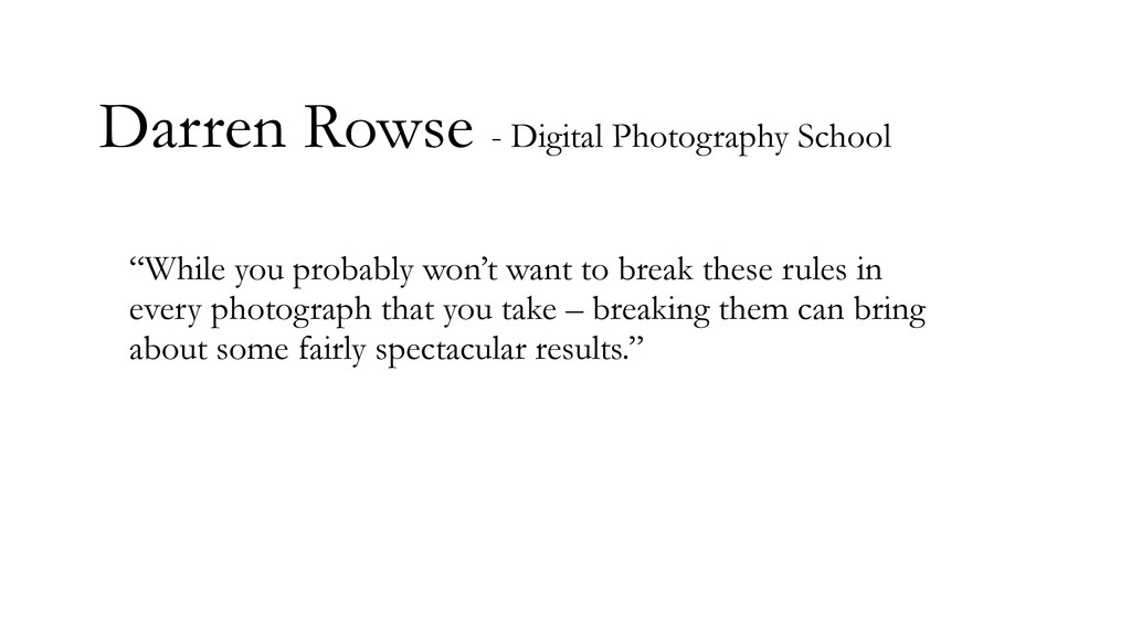 """Darren Rowse - Digital Photography School """"Whil..."""