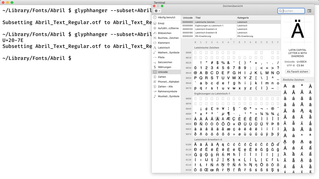 glyphhanger --subset=Abril_Text_Regular.otf --f...