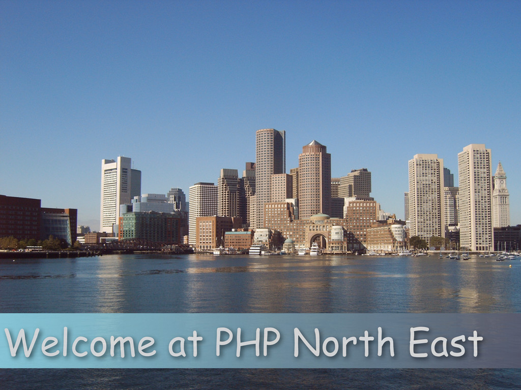 Welcome at PHP North East