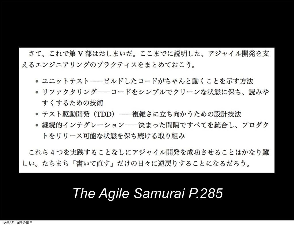 The Agile Samurai P.285 128݄10༵ۚ