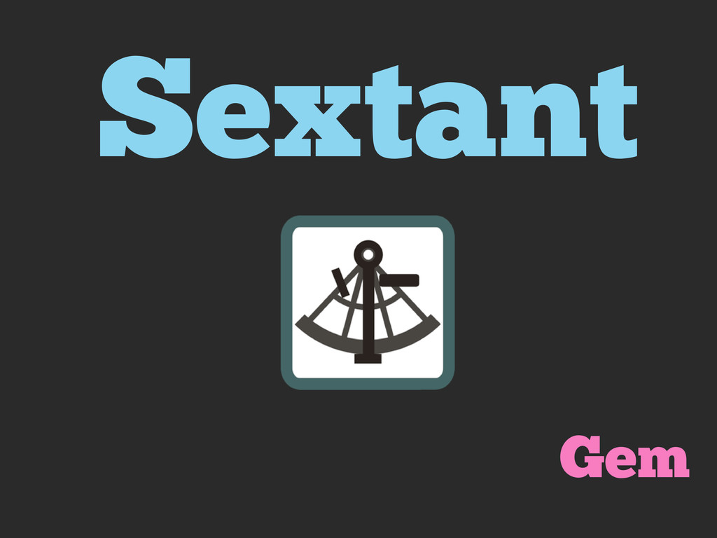 Sextant Gem