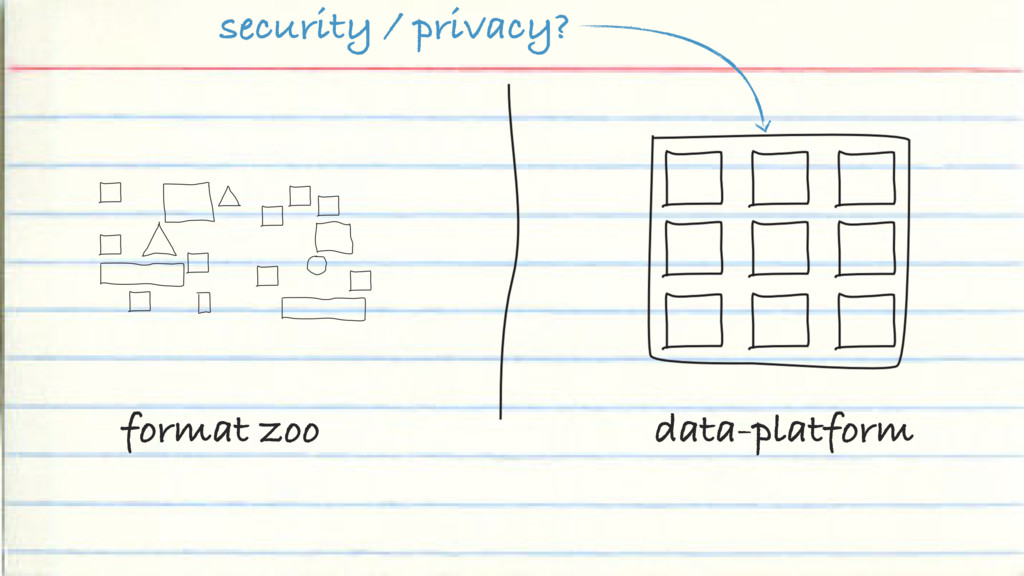 format zoo data-platform security / privacy?