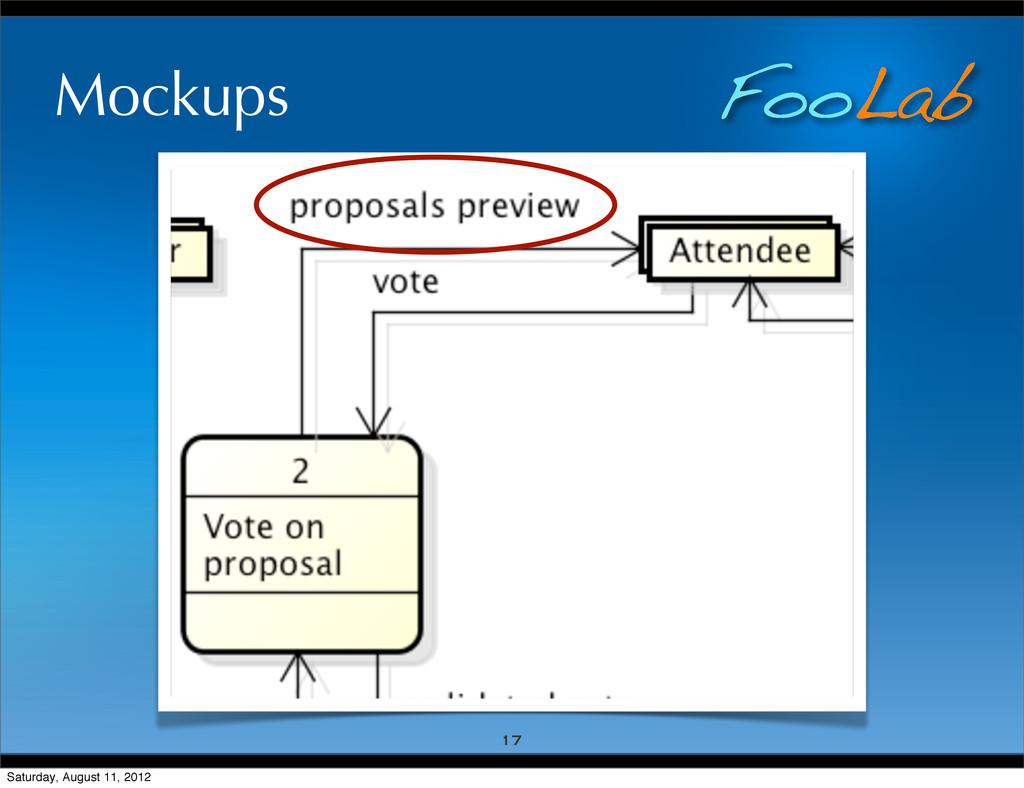 FooLab Mockups 17 Saturday, August 11, 2012
