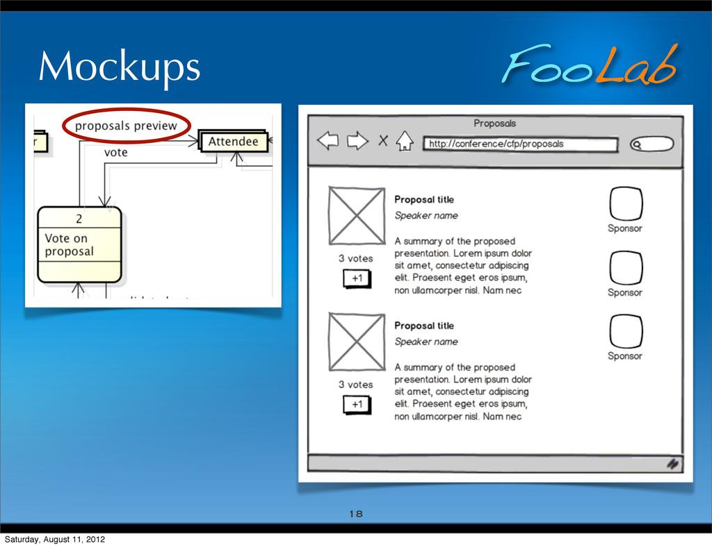 FooLab Mockups 18 Saturday, August 11, 2012