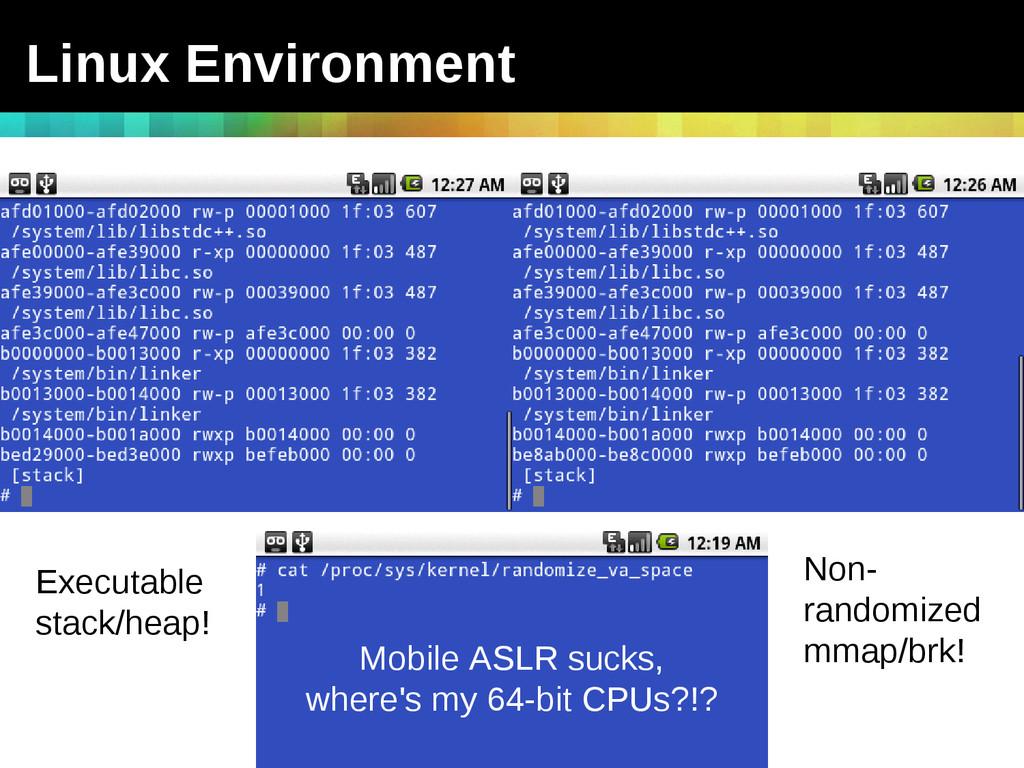 TEAM JOCH vs. Android - ShmooCon 2011 Linux Env...