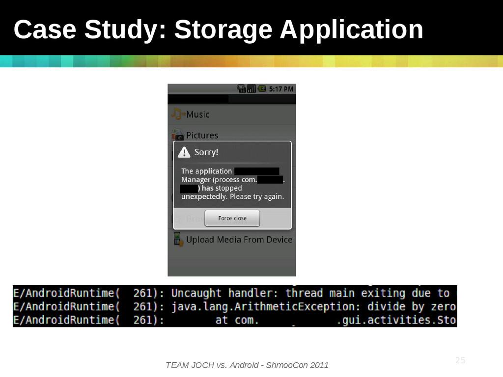 TEAM JOCH vs. Android - ShmooCon 2011 25 25 Cas...