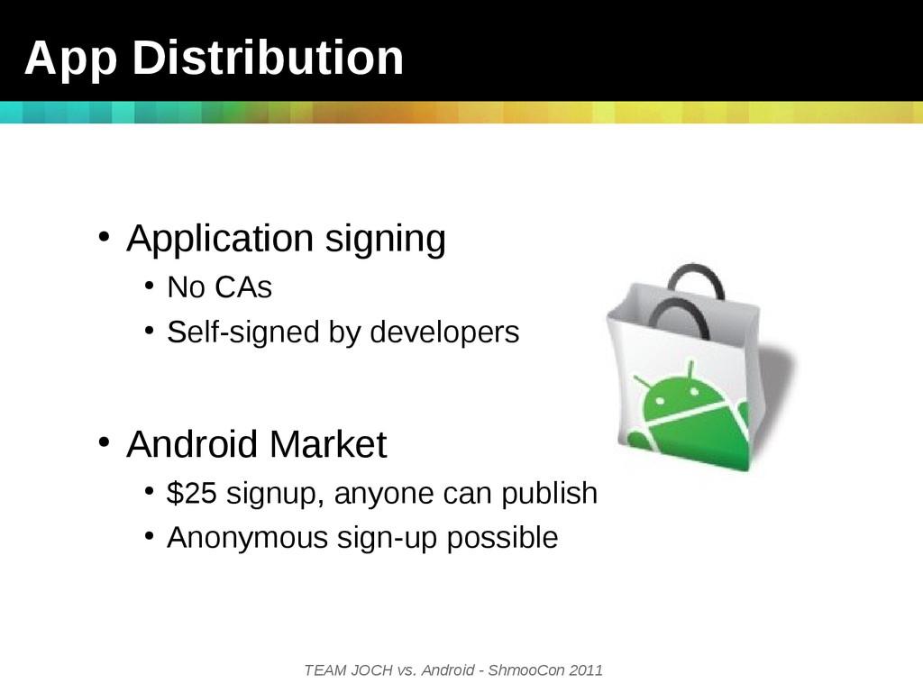 TEAM JOCH vs. Android - ShmooCon 2011 App Distr...
