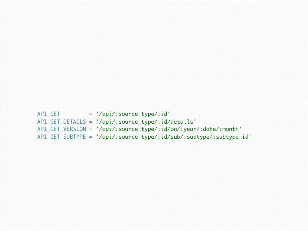 API_GET = '/api/:source_type/:id' API_GET_DETAI...