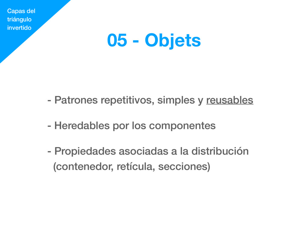 - Patrones repetitivos, simples y reusables - H...
