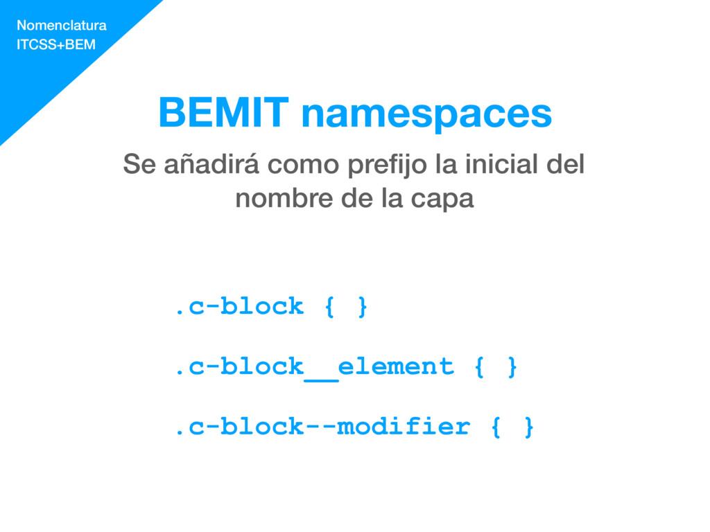 .c-block { } .c-block__element { } .c-block--mo...