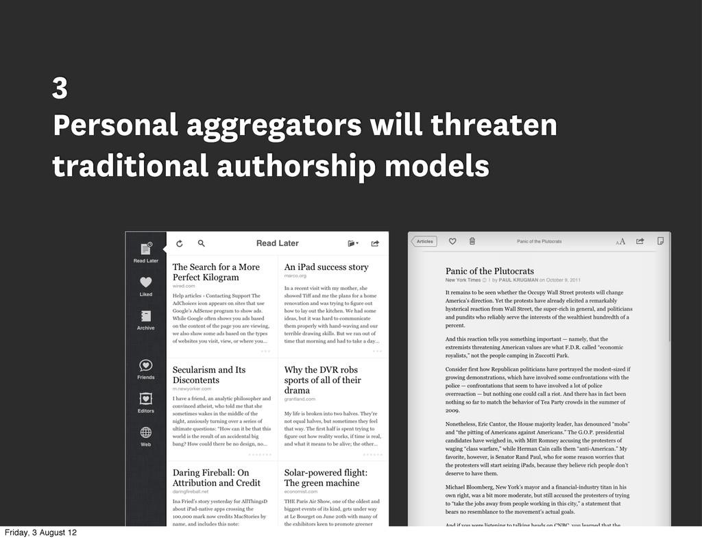 3 Personal aggregators will threaten traditiona...