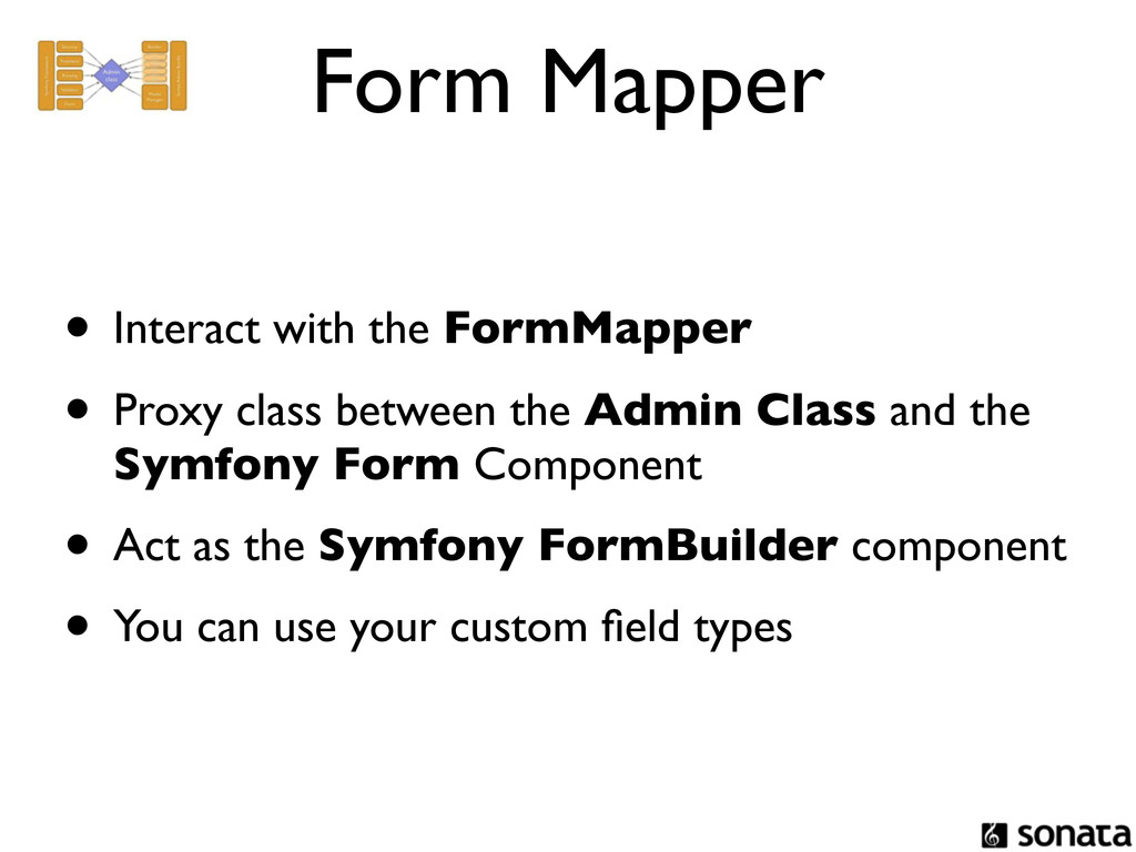 Form Mapper • Interact with the FormMapper • Pr...