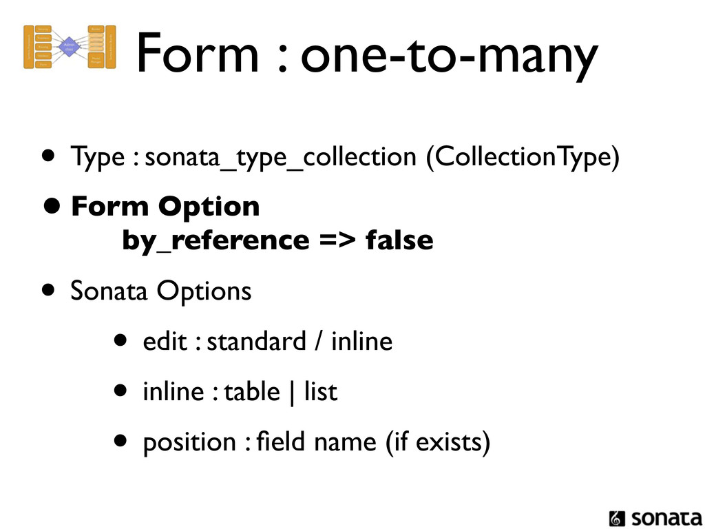 Form : one-to-many • Type : sonata_type_collect...
