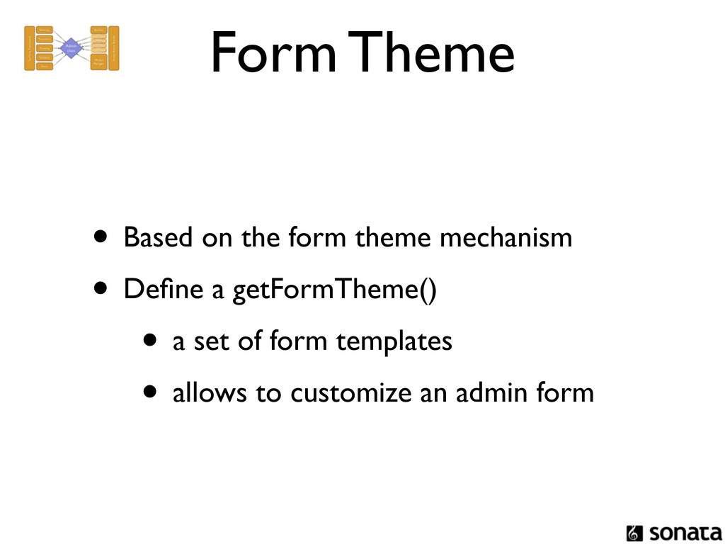 Form Theme • Based on the form theme mechanism ...