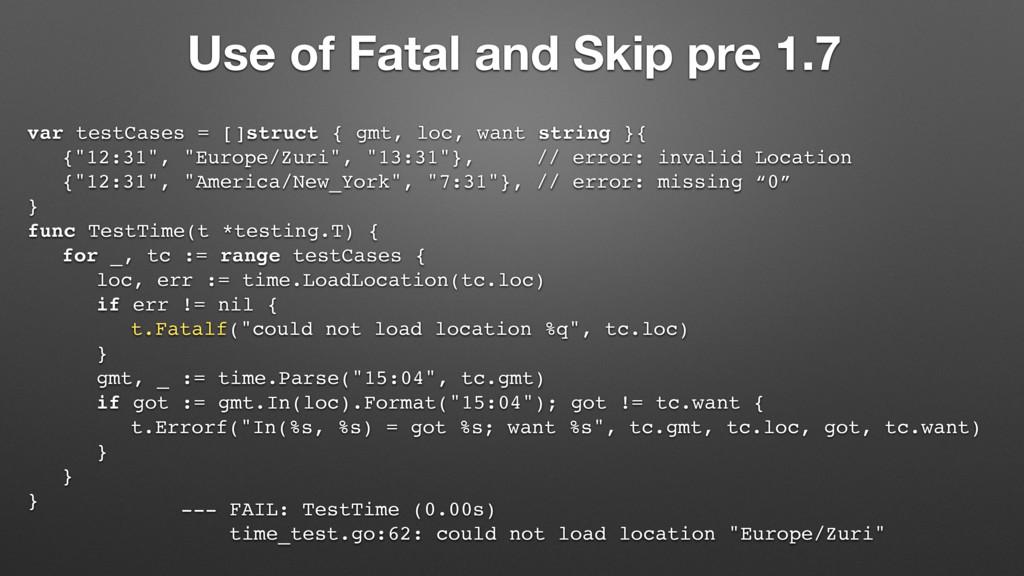 var testCases = []struct { gmt, loc, want strin...