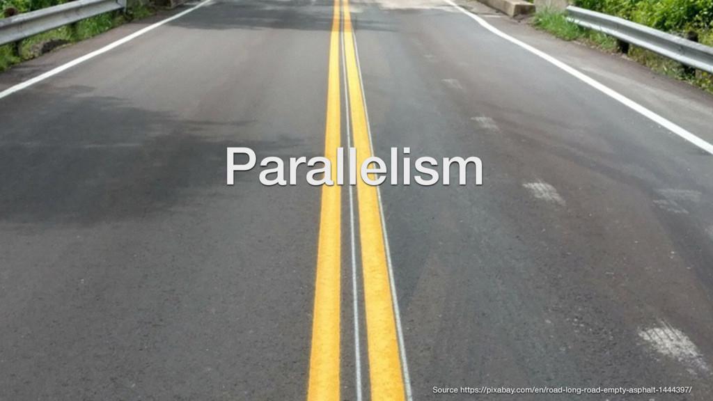 Parallelism Source https://pixabay.com/en/road-...