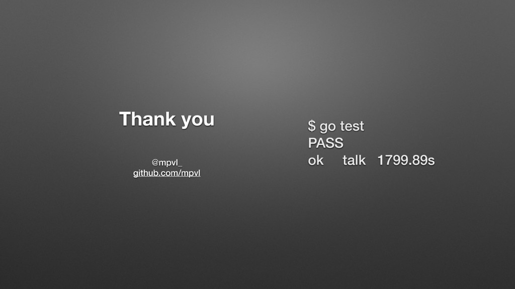 Thank you @mpvl_ github.com/mpvl $ go test PASS...