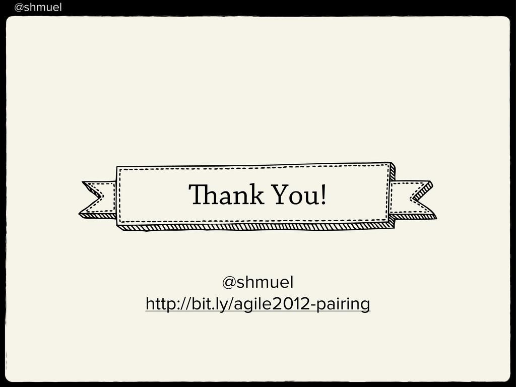 @shmuel ank You! @shmuel http://bit.ly/agile201...