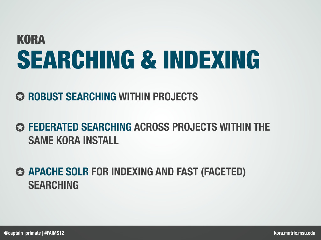 ROBUST SEARCHING WITHIN PROJECTS FEDERATED SEAR...