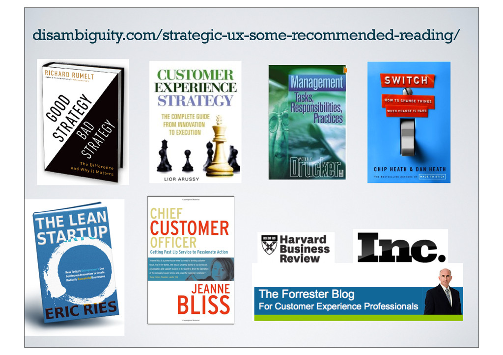 disambiguity.com/strategic-ux-some-recommended-...
