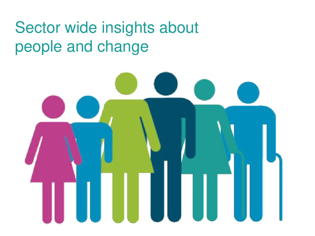Sector wide insights about people and change
