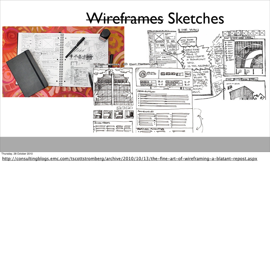 Wireframes Sketches Thursday, 28 October 2010 h...