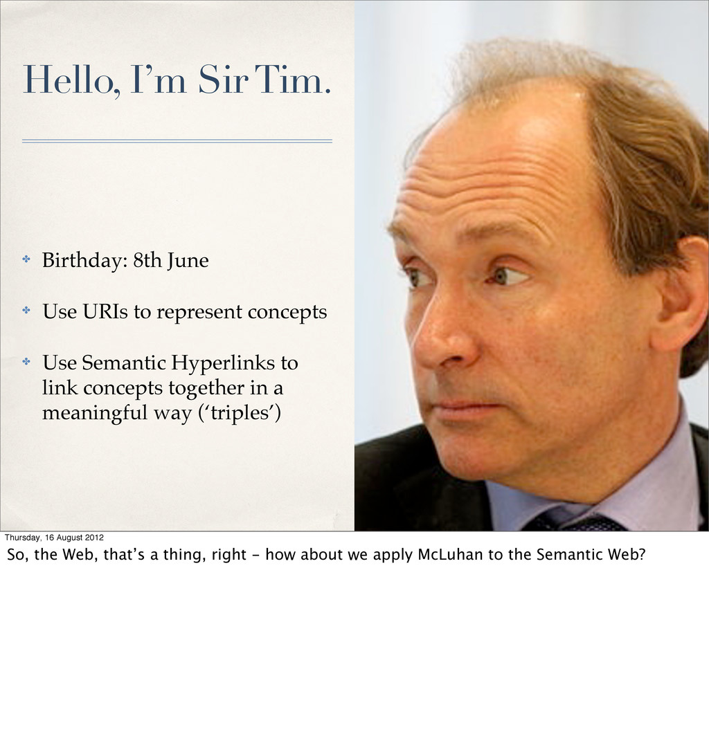 Hello, I'm Sir Tim. ✤ Birthday: 8th June ✤ Use ...
