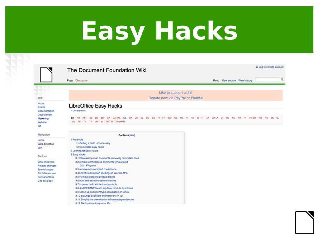 Easy Hacks