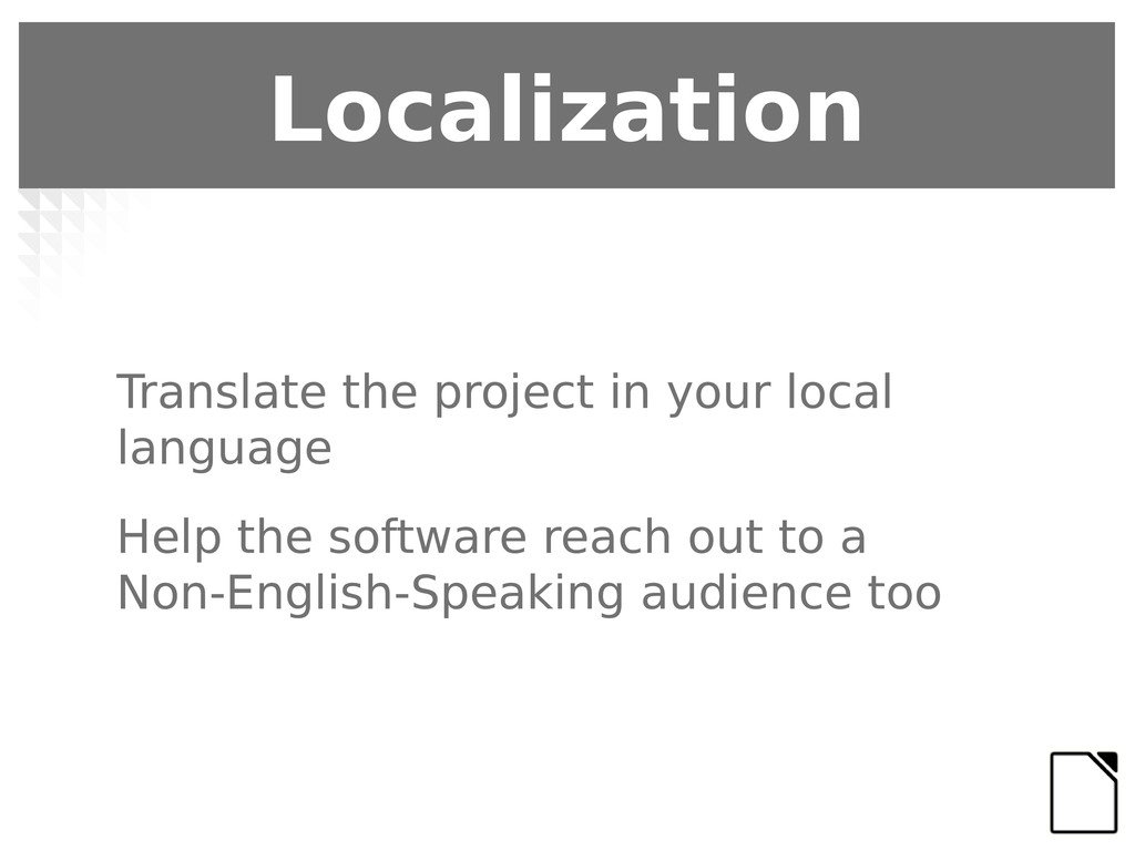 Translate the project in your local language He...