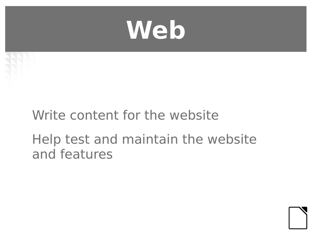 Write content for the website Help test and mai...