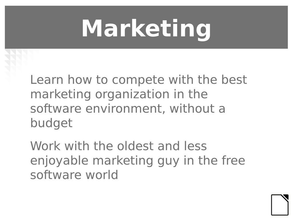 Marketing Learn how to compete with the best ma...